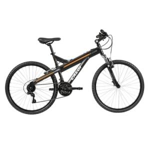Bicicleta MTB Caloi T-Type Aro 26 Susp Dianteira 21 Marchas