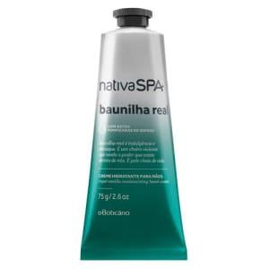 Nativa SPA Baunilha Real Creme Desodorante Hidratante para Mãos 75g