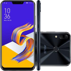 Smartphone Asus Zenfone 5 ZE620KL-1A046BR Octa Core, Tela 6.2´, 128GB, Câmera 8MP / 12+8MP, Desbloqueado - Preto