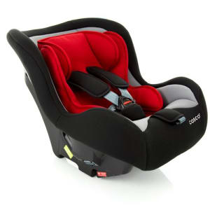 Cadeira para Automóvel Simple Safe Cosco - 0 A 25kg - Vermelho