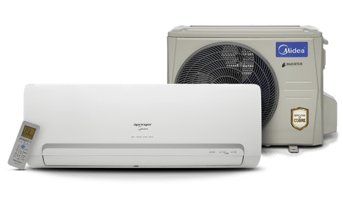 Ar-Condicionado Split Inverter 9.000 BTU Quente/Frio Springer Midea