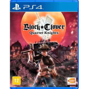 Jogo Black Clover Quartet Knights - PS4