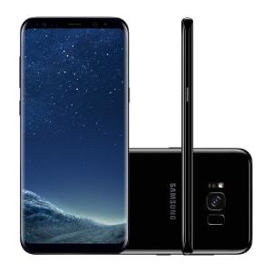 "Smartphone Samsung Galaxy S8+ SM-G955FD 64GB Preto 4G Tela 6.2"" Câmera 12MP Android 7.0"