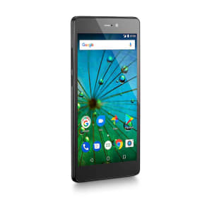 Smartphone MS60F Plus 4G Tela 5,5 Pol. Sensor de impressão digital 2GB RAM Dual Chip Android 7 Multilaser Preto/Prata - NB715