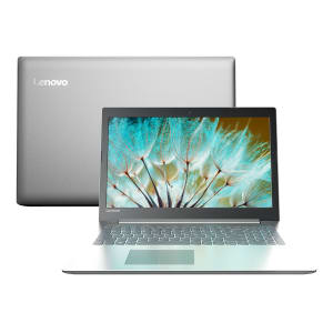 "Notebook Lenovo Intel Core i3 4GB 1TB Windows 10 15,6"" Ideapad 320 80YH0008BR Prata"