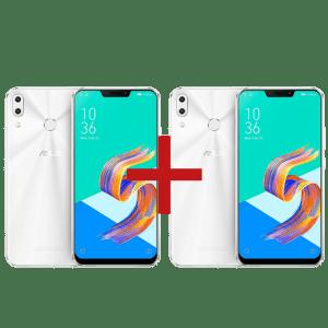 Oferta ➤ ZenFone 5 4GB/128GB Branco + ZenFone 5 4GB/64GB Branco   . Veja essa promoção