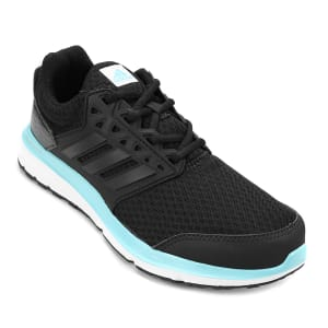 Tênis Adidas Galaxy 3.1 Feminino - Preto e Azul