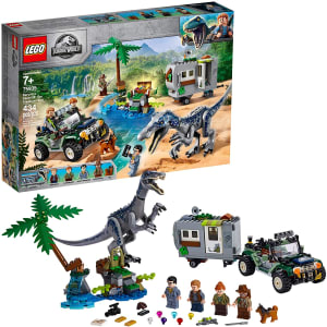 Lego Jurassic World Confronto De Baryonyx. A Caça Ao Tesouro 75935 Lego Diversas