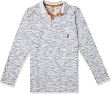 Camisa Polo Polo Manga Longa Getblack - UP Baby