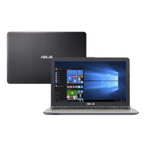 "Notebook Asus Intel Core i3 4GB 1TB Windows 10 Home Tela 15.6"" X541UA-GO1986T Preto"