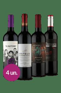 4 Vinhos WineBox Adega Básica