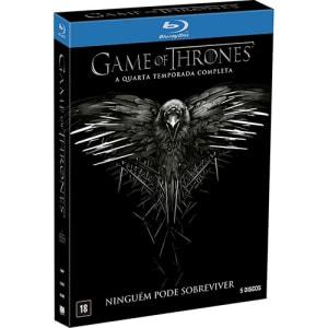 Blu-ray - Game Of Thrones: A Quarta Temporada Completa - Ninguém Pode Sobreviver (5 Discos)
