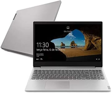 Notebook Lenovo Ideapad S145, Ryzen 5 3500U 4GB RAM, 1TB, Tela HD 15.6'', 81V70001BR