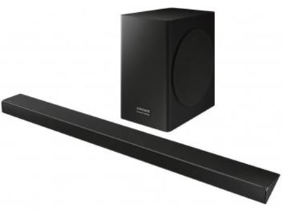 Soundbar Samsung com Subwoofer 360W 5.1 Canais - HW-Q60R/ZD