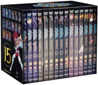 DVD Os Cavaleiros do Zodíaco Ômega - Segunda Temporada Completa