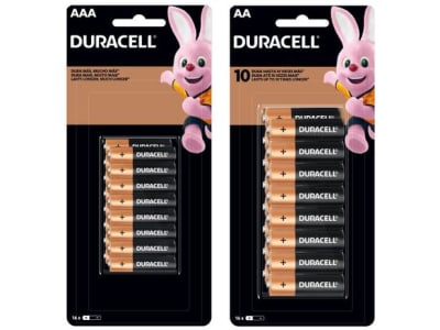 Kit de Pilha AA Pequena + AAA Palito Alcalina - 32 Unidades Duracell - Magazine Ofertaesperta