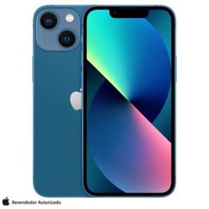 """iPhone 13 mini 128GB Azul, com Tela de 5,4"""", 5G e Câmera Dupla de 12MP - MLK43BZ/A"""
