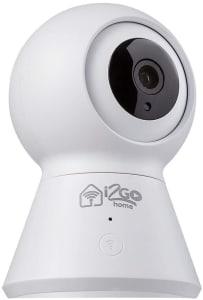 Câmera Inteligente 360º Wi-Fi I2go Home - Compatível com Alexa Branco