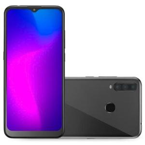 Smartphone Multilaser G Pro 2 32GB + 2GB Ram 4G Tela 6,5 Câmera Tripla + 8 MP para Selfies Processador Octa Core Preto - P9125