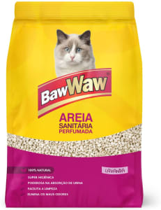 Areia Sanitária Para Gatos Baw Waw 4kg