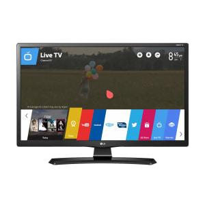 "Monitor TV Smart LED 24"" LG 24MT49S-PS HD 2 HDMI 1 USB Preto"