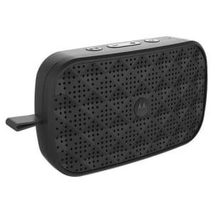 Caixa de Som Motorola Sonic Play 150 Bluetooth, Estéreo e Rádio FM Preto