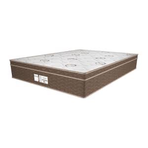 Colchão Casal Prodormir Molas Pocket 28x188x138 cm Euro Pillow Eclipse Springs PA37621