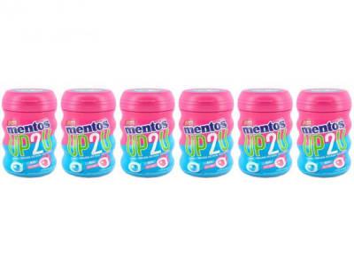 Goma de Mascar Mentos Pure Fresh Tutti-Frutti - Menta sem Açúcar 56g Display 6 Unidades - Magazine Ofertaesperta