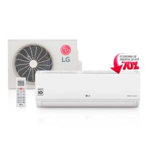Ar Condicionado LG Split Dual Compact Branco Inverter Frio 220V