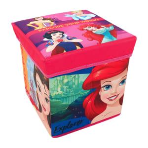 Caixa Organizadora com Tampa em MDF 2 Peças Rosa e Vermelho Zippy Toys 6173