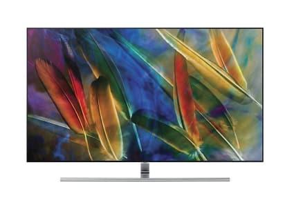 """Smart TV QLED Samsung 55"""" QN55Q7FAMGXZD 4K UHD HDR1500 Conversor Digital Wi-Fi 4 HDMI 3 USB"""