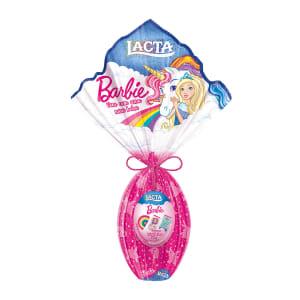 Ovo de Páscoa de Chocolate ao Leite Lacta Barbie 157g