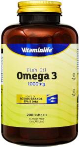 Omega 3 1000mg 200 Cápsulas - VitaminLife