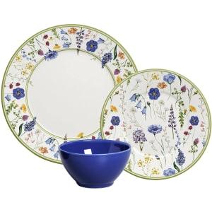 Aparelho de Jantar Azul Jasmim 18 Peças - La Cuisine