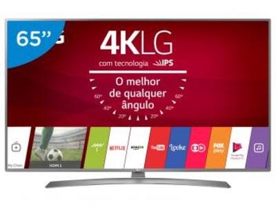 Oferta ➤ Smart TV LED 65 LG 4K/Ultra HD 65UJ6585 WebOS – Conversor Digital Wi-Fi 2 4 HDMI 2 USB – Magazine   . Veja essa promoção