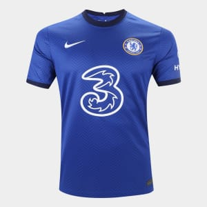 Camisa Chelsea Home 20/21 s/n° Torcedor Nike Masculina - Azul e Branco