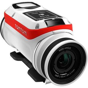 Câmera de Ação TomTom Bandit 4K HD com GPS WiFi Bluetooth - Branca