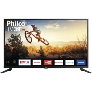 """Smart TV LED 39"""" PTV39E60SN HD com Conversor Digital Integrado 2 HDMI 1 USB"""