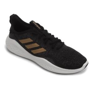 Tênis Adidas Fluid Flow Feminino - Preto e Dourado