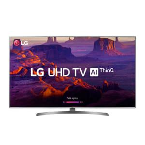 "Smart TV LED 70"" LG 70UK6540PSA Ultra HD 4k Wi-Fi Inteligência Artificial Prata Conversor Digital Integrado"