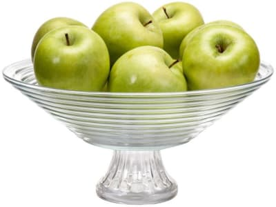 Fruteira de Mesa de Vidro Ruvolo Redonda Goumert - 10042100016 - Magazine Ofertaesperta