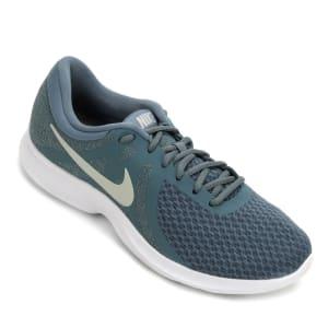 Tênis Nike Revolution 4 Feminino - Azul e Branco