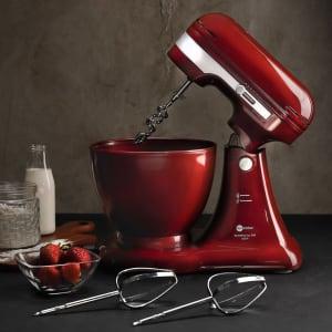 [3 cores] Batedeira 500 Vermelha Fun Kitchen - Coleção Lux 220v