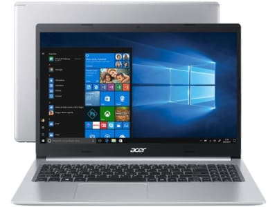 "Notebook Acer Aspire 5 A515-54-587L Intel Core i5 - Quad-Core 8GB 256GB SSD 15,6"" Windows 10 - Magazine Ofertaesperta"