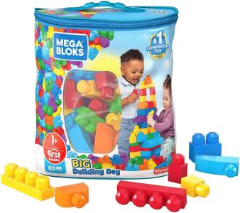 Brinquedo Blocos de Montar Mega Bloks Sacola de 80 Blocos - Mattel