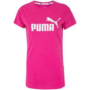 [3 CORES] Camiseta Puma Essentials Logo - Feminina