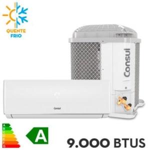 Ar Condicionado Split Consul 9.000 BTUs Quente e Frio - CBP09BB