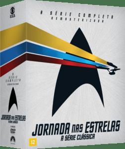 DVD Box Jornada Nas Estrelas - A Série Clássica - 23 Discos