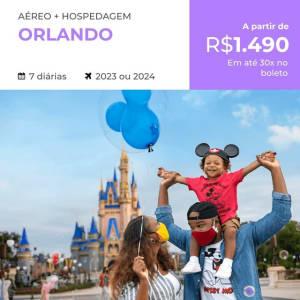 Confira ➤ Pacote de Viagem Orlando – 2023 e 2024 – Aéreo + Hospedagem 7 diárias ❤️ Preço em Promoção ou Cupom Promocional de Desconto da Oferta Pode Expirar No Site Oficial ⭐ Comprar Barato é Aqui!