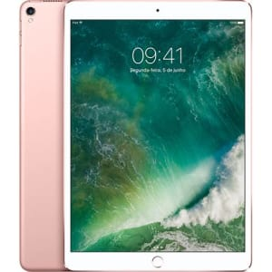"iPad Pro 64GB Wi-Fi Tela 10,5"" Câmera 12MP Rose Gold - Apple"